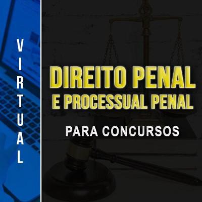 [Virtual - Direito Penal + Processual Penal - para Concursos ]