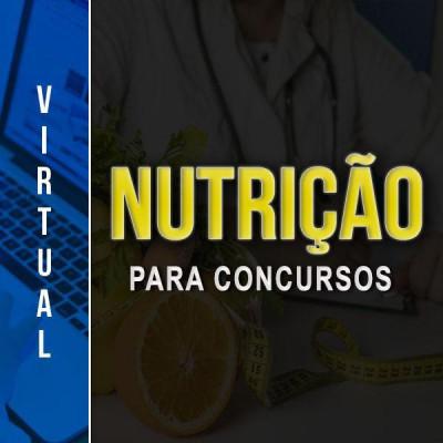 [Virtual - Nutrição para concursos]