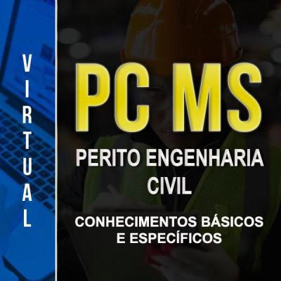 [Virtual - PC MS - Engenharia Civil - Conhecimentos básicos e Específicos]