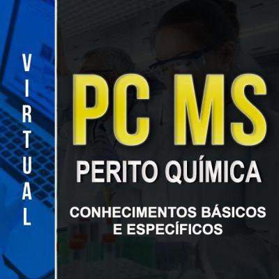 [Virtual - PC-MS - Química - Conhecimentos básicos e Específicos]
