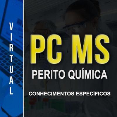 [Virtual - PC-MS - Química - Conhecimentos Específicos]