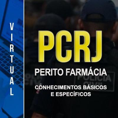 [Virtual - Polícia Civil RJ - 2 em 1: PERITO LEGISTA E CRIMINAL: FARMÁCIA - CONHECIMENTOS BÁSICOS E ESPECÍFICOS]
