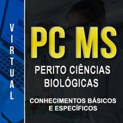 [Virtual - PC MS - Ciências Biológicas - Conhecimentos básicos e Específicos]