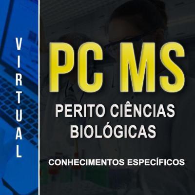 [Virtual - PC MS - Ciências Biológicas - Conhecimentos Específicos]
