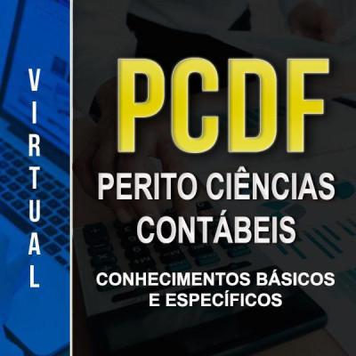[Virtual - Polícia Civil/DF - Perito Ciências Contábeis - Completo]