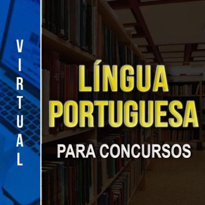 [Virtual - Língua Portuguesa -Para Concursos]