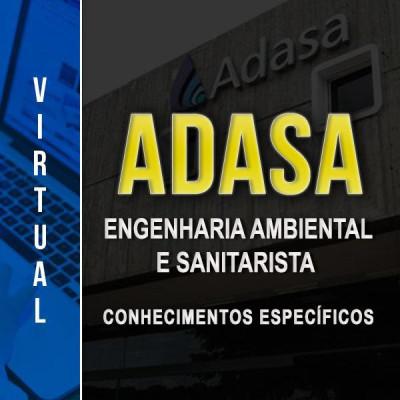 [Virtual - ADASA - Engenharia Ambiental e Sanitarista - Conhecimentos Específicos ]