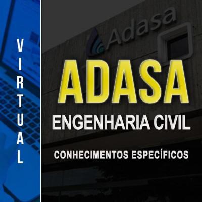 [Virtual - ADASA - Engenharia Civil - Conhecimentos Específicos ]