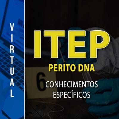 [Virtual -  ITEP - RN - Perito - DNA - Conhecimentos Específicos]
